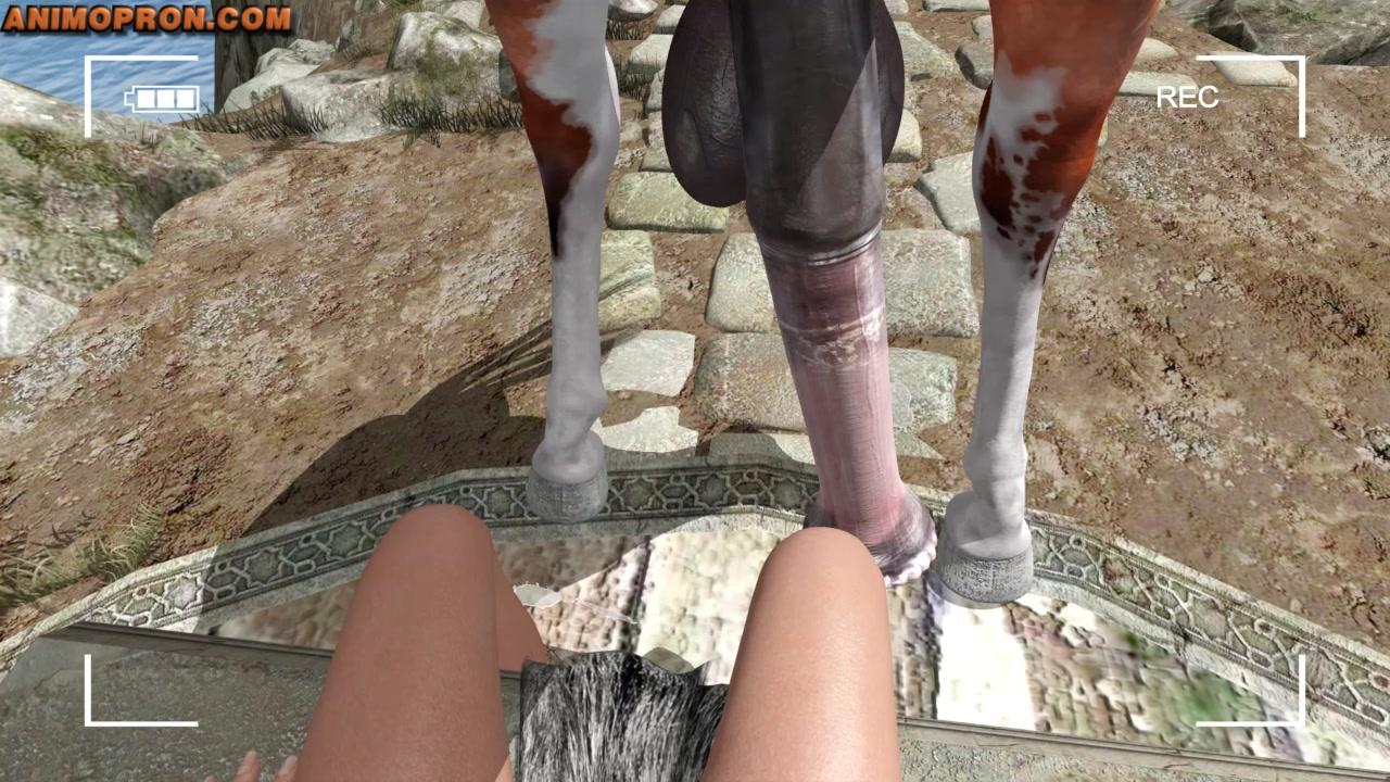 Horse lara and her Lara's Nightmare